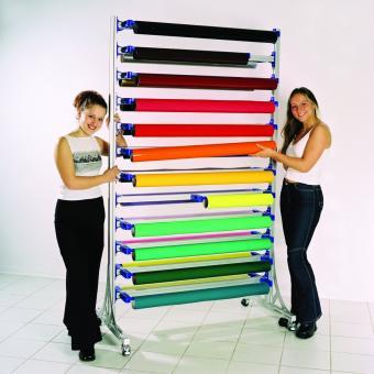 Easy Rack Systemregal fahrbar für Rollenbreite 102 cm   VE 1 Stück
