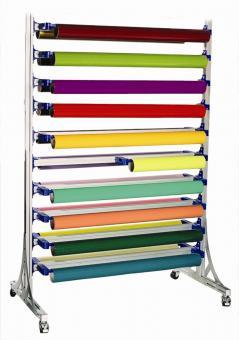 Easy Rack Systemregal fahrbar für Rollenbreite 142 cm  VE 1 Stück