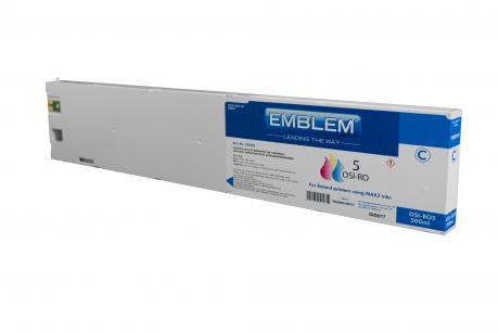 "EMBLEM Professional Ink ""Optimizer 5"" Cyan 500ml cartridge for Roland"