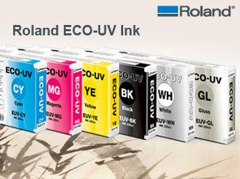 Roland UV-Tinten   black 220ml Kartusche