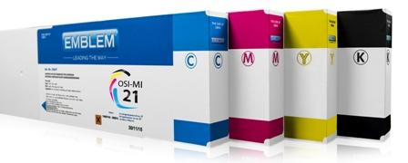 """EMBLEM Professional Ink """"optimizer"""" Black Optimizer Solvent Ink for Mimaki SS21 440ml"""