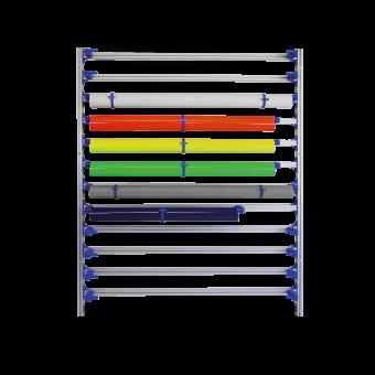 EASY Rack Systemregal Wandmontage für Rollenbreite 162 cm  VE 1 Stück
