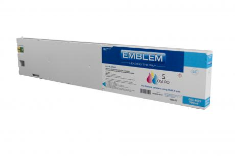 "EMBLEM Professional Ink ""Optimizer 5"" Light Cyan 500ml cartridge for Roland"