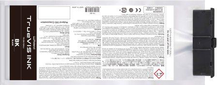 TrueVIS Tintenbeutel schwarz 500ml für Roland SG und VG-Serie