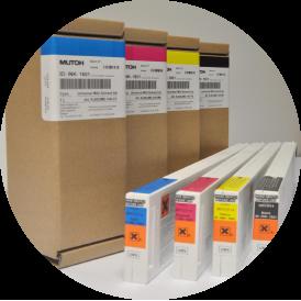 MUTOH Spitfire -Unversal Mild Solvent Tinte magenta 440ml Kartusche