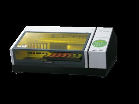 Roland LEF-20 - Druckfläche: 330 x 508 mm UV-LED Flachbett-Drucker arbeitet mit EUV Tinten