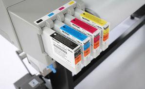 Mutoh -Eco Solvent Ultra Tinten   für RJ 80 U 220ml Kartusche magenta