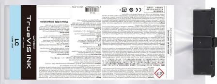 TrueVIS Tintenbeutel light cyan 500ml für Roland VG-Serie