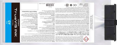 TrueVIS Tintenbeutel cyan 500ml für Roland SG und VG-Serie