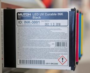 VALUEJET UV Tintenkartusche Flex black US11 220 ml Cartridge