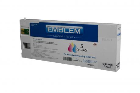 """EMBLEM Professional Ink """"Optimizer 5"""" Cleaning 220ml cartridge for Roland"""