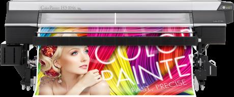 OKI ColorPainter H3-104s 8color inklusive Starter-Kit und Zubehör  ohne Tinten