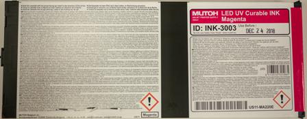 VALUEJET UV Tintenkartusche Flex magenta US11 220 ml Cartridge