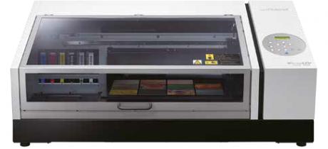 Roland LEF2-200 - Druckfläche: 330 x 508 mm UV-LED Flachbett-Drucker arbeitet mit EUV Tinten