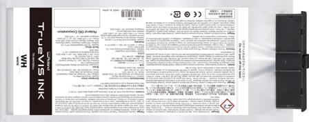 TrueVIS Tintenbeutel weiß 500ml für Roland VG--Serie