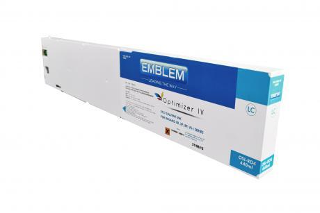 "EMBLEM Professional Ink ""optimizer 4 "" LC Light Cyan - 440ml cartridge für Roland"