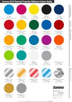 DC3-601 Summa-Harz-Bänder 350m  Farbe magenta