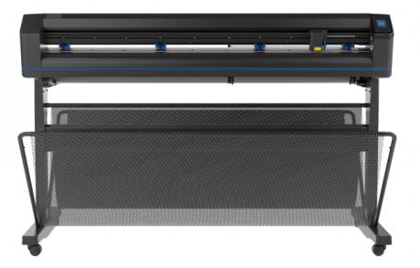 Summa S One D140, Schleppmesser Schneideplotter 1,40 m, mit Standfuss, Korb und Medienaufnahme