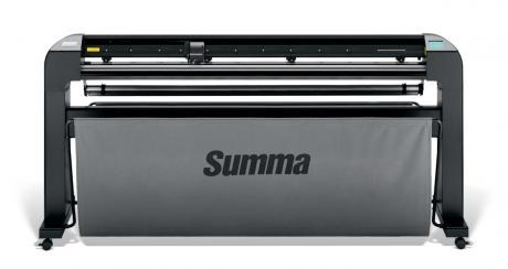 Summa S2-Class S2D-160-2E Schneideplotter incl. Stand, mit OPOS-X, Schneidebreite 1600mm