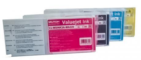 MUTOH -Eco Solvent Ultra Tinten cyan 220 ml Kartusche