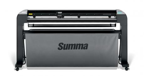 Summa S2-Class S2D140-2E Schneideplotter incl. Stand, mit OPOSX, Schneidebreite 1400mm