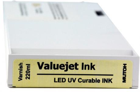 VALUEJET UV Tintenkartusche LUH1 varnish 220 ml Cartridge