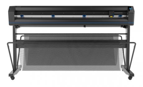 Summa S One D160, Schleppmesser-Schneideplotter 1,60 m, mit Standfuss, Korb und Medienaufnahme